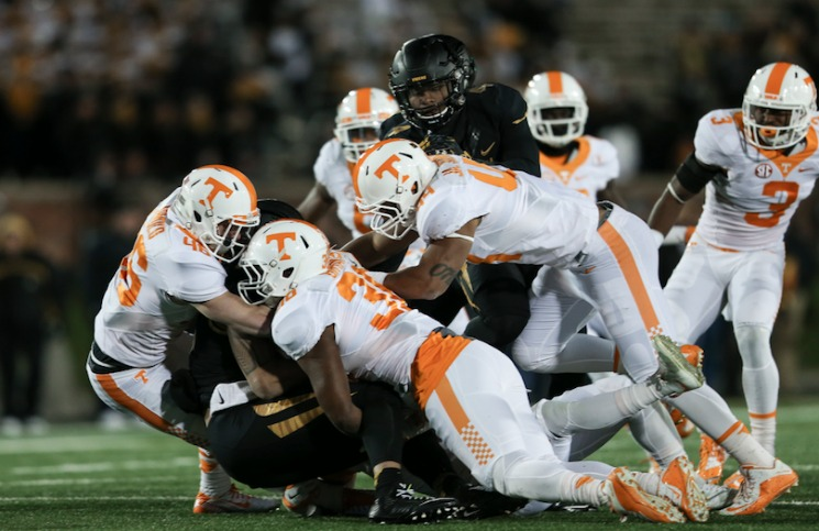 Tigers topple Vols 50-17