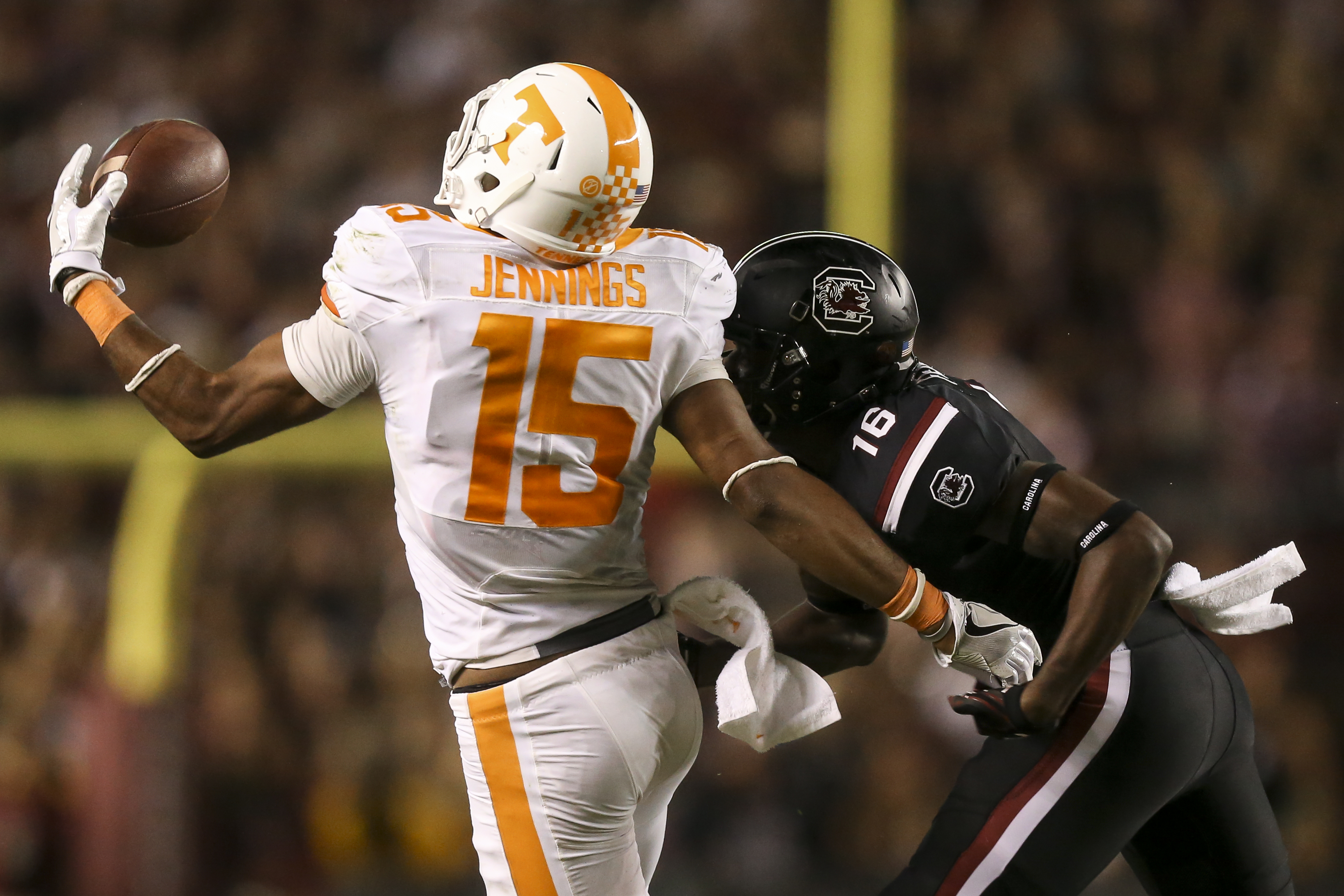 Jauan Jennings Dismissed from UT Football Team