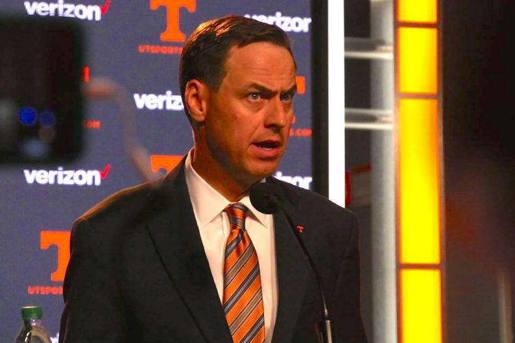 Tennessee Reaches $2.5 Million Settlement With Former Athletic Director John Currie