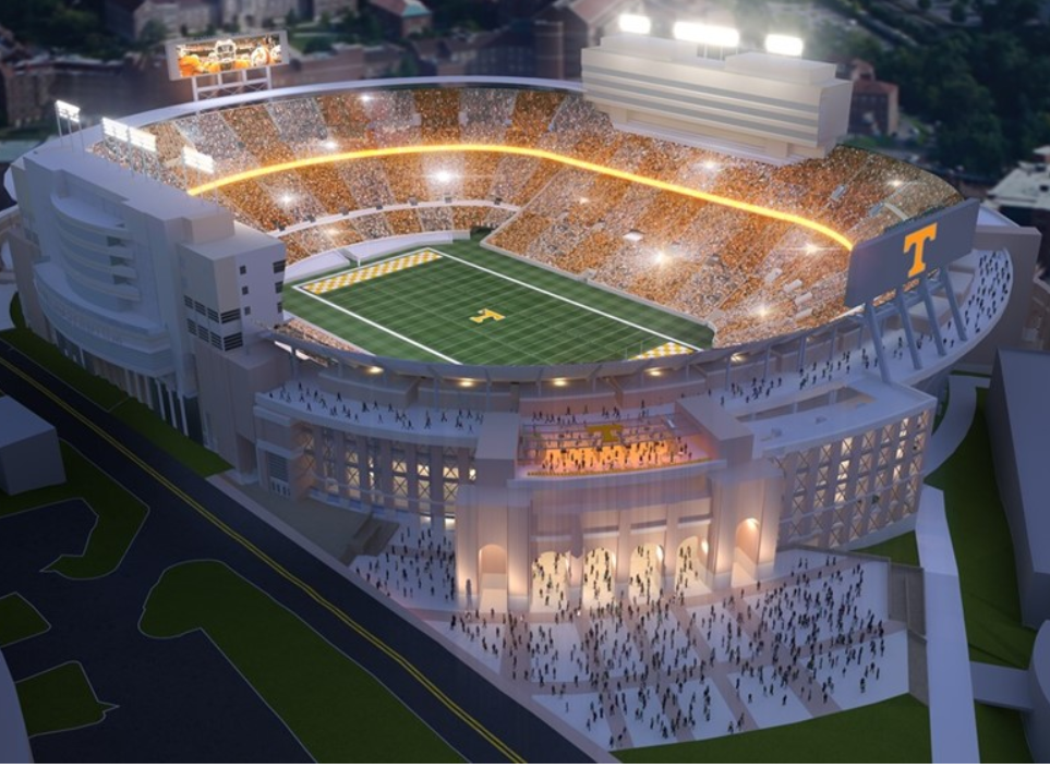 A Look At The Finalized Neyland Stadium Renovations