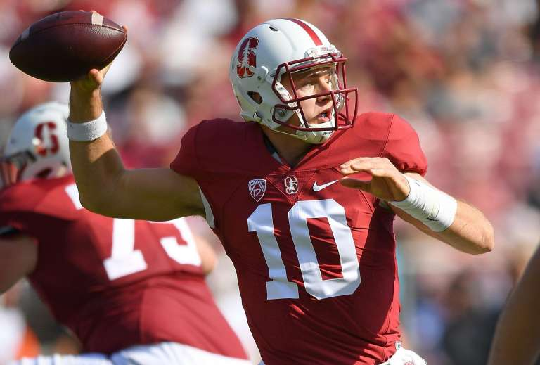 Stanford QB Chryst transferring to another program