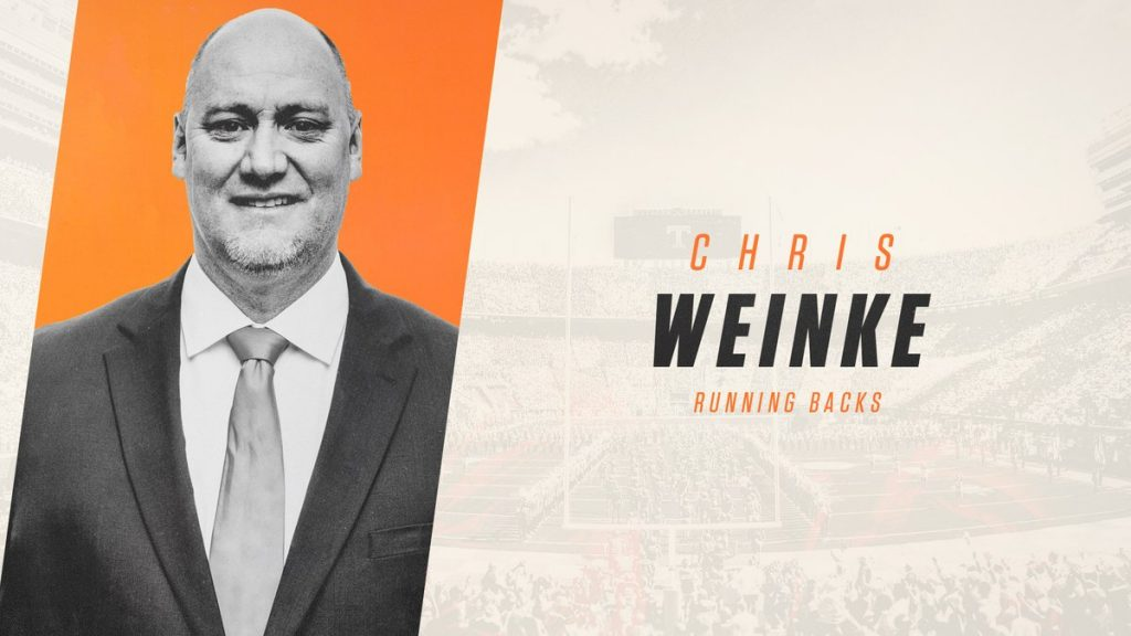 Chris Weinke officially announced to Tennessee football staff