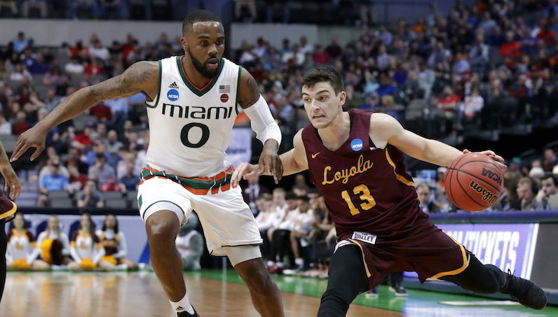 Loyola upsets Miami on last-second 3-pointer