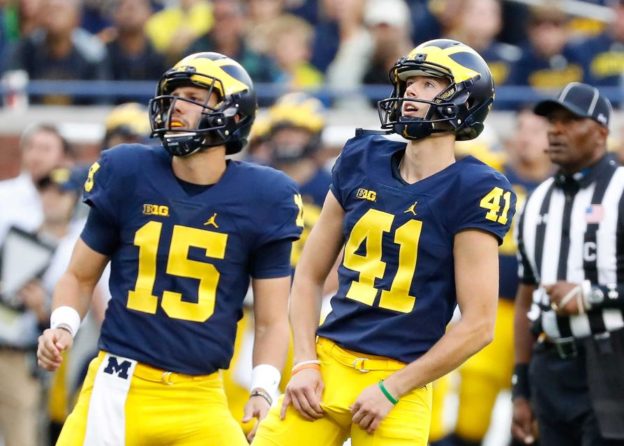 Former Michigan kicker set to join Tennessee as a graduate transfer