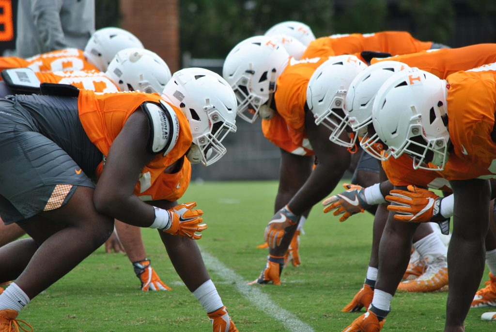 The Vols Week 1 Depth Chart By Numbers