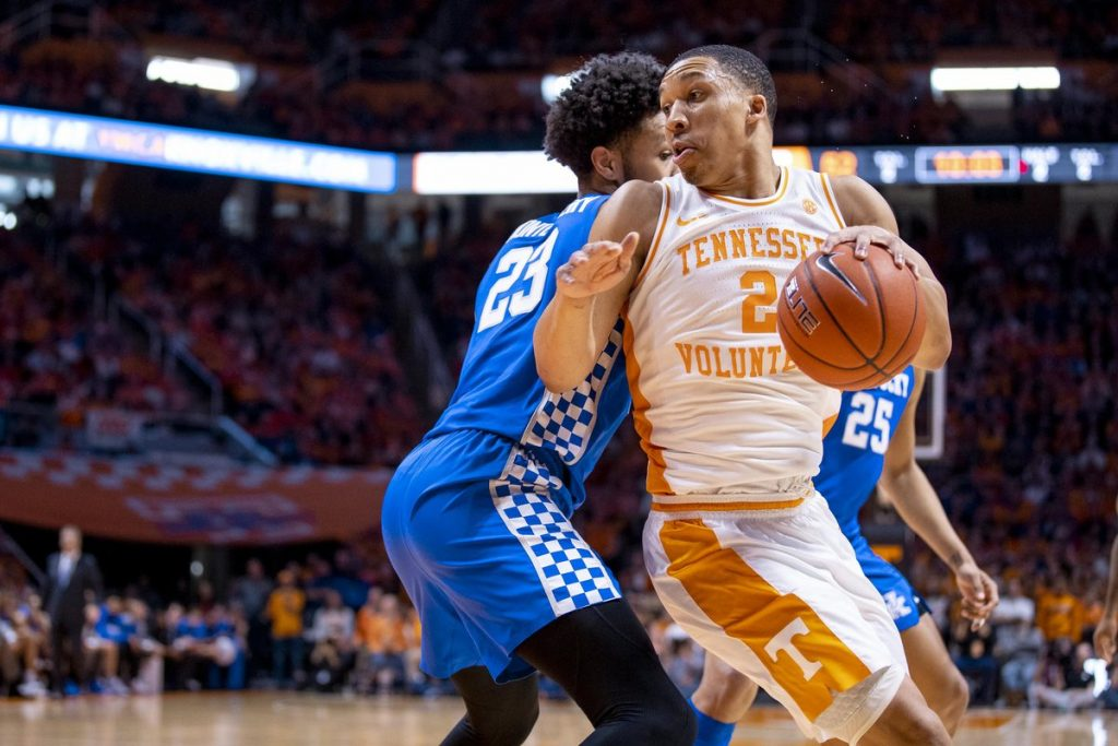 Grant Williams Repeats As Coaches Sec Player Of The Year