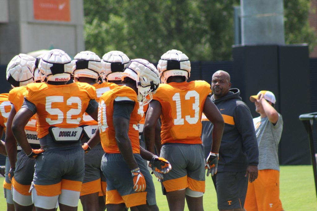 Notes Vols Football Practice 9 4 19 Rocky Top Insider