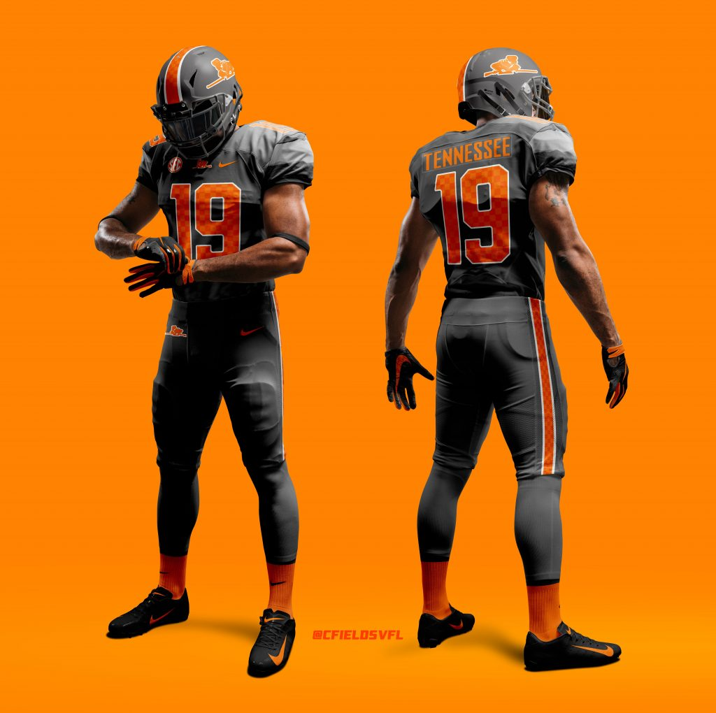 Alternate Uniform Concepts for Tennessee Football | Rocky ...