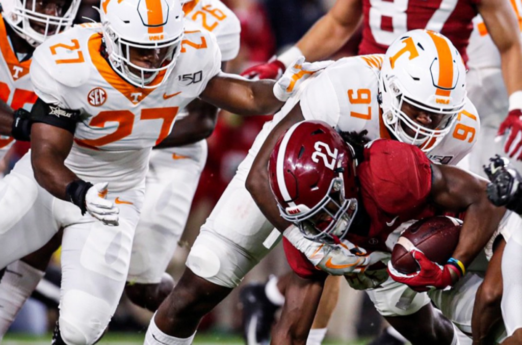 5 Observations No 1 Alabama 35 Tennessee 13 Rocky Top