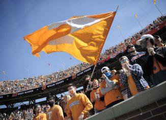 Tennessee football mask